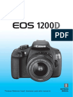 Manual Canon Eos 1200d