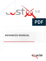 CostX5.0 Advanced Manual