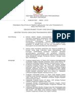R. Permen Pedoman OJT Instruktur 2010