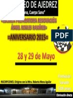 1er. Torneo de Ajedrez