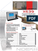 NIDEKA  X639 FINGERPRINT SCANNER STANDALONE.pdf