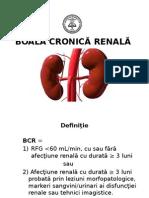 BCR boala cronica