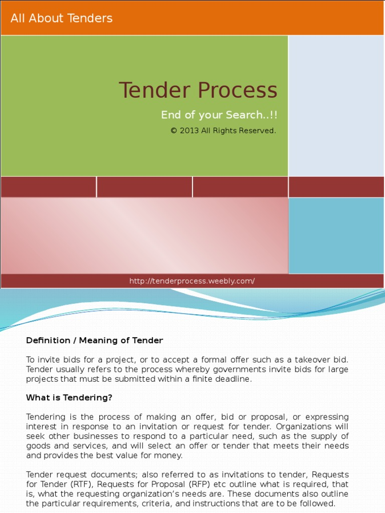 Tenderprocess 131010000753 phpapp02 request for proposal procurement stopboris Images