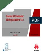 93469305 3G HW HCPT New Sites Parameter Setting Guideline v 1