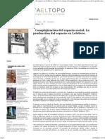 Complejización Del Espacio Social. La Producción Del Espacio en Lefebvre