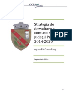 Strategia de Dezvoltare CORNU 2014-2020