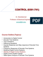 Stability of Digital Control Systems