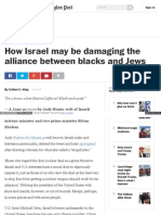 How Israel may be damaging the alliance between blacks and Jews