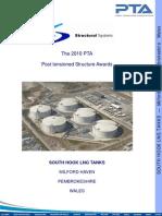 PTA Award 2010 SSL South Hook LNG Tanks