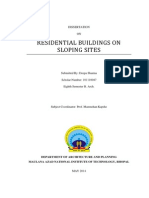 Dissertation_residential Buildings on Sloping Sites
