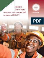 IOGC Exam Paper