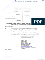 GULLIFORD v. PHILADELPHIA EAGLES et al - Document No. 18