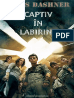 James Dashner Captiv În Labirint 1 Labirintul