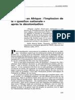Ethnicité en Afrique
