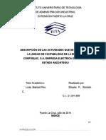 INFORME PASANTIAS DEL PROCESO DE COMPRAS