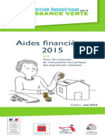 Guide Aides Financieres Renovation Habitat 2015