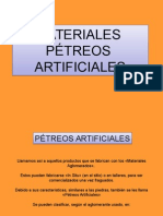 Materiales Petreos Artificialess