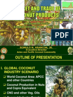 Market and Trade of Coconut Products