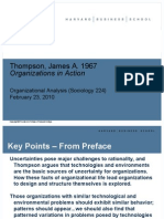 Thompson, James a. 1967 Organizations in Action