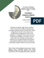 Jung -Teorija Psiholoskih Tipova