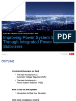 Power System Stabilizers ABB