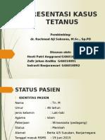Presentasi Kasus Tetanus