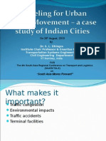 Urban Goods Movement Modelling for India Cities