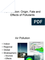 Air Pollution - Origin - Effects