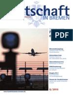 Wirtschaft in Bremen 08/2015 - Flughafen Bremen GmbH