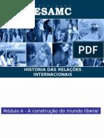 Material de apoio História das Relações Internacionais 2015-02
