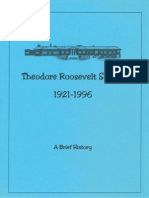 1996 10 20 Roosevelt 75th Anniversary Celebration 1921-1996 History Booklet