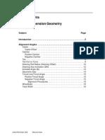Basic Suspension Geometry