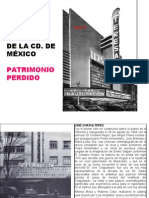 Antiguos Cines de La CD. de mÉxico