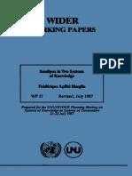 F. Apffel Marglin Smallpox in Two Sistem of Knowledge