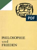 1984 Philosophie Und Frieden_BOOK