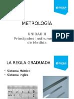 Metrologia Unidad II La Regla