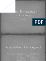 Case Study:Demand Forecasting of Rekha Soap
