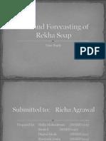 Case Study:Demand Forecasting of Rekha Soap