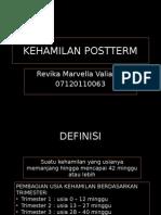 Presentasi KEHAMILAN POSTTERM