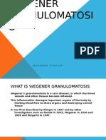 Wegener Granulomatosis Slide Medical