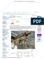 Monorail Beam - Topside Platform _ Offshore