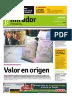 Edición impresa del domingo 19 de julio de 2015