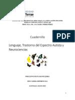 Cuadernillo Lenguaje, Autismo y Neurociencias