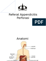 Referat Appendicitis Perforasi