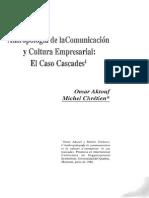 Antropología de La Comunicación y Cultura Empresarial_ El Caso de Cascades