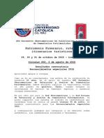 Circular 003 Candidaturas Reconocimientos Especiales Red Iberoamericana de Cementerios Patrimoniales 2015
