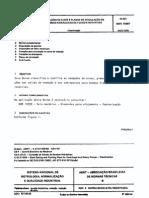NBR 10397 - 1988 - Vedação de Eixos e Planos de Circulação de Bombas