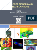 Turbulence Models and Their Applications