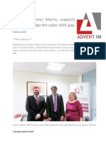 Local MP, James Morris, Supports Efforts to Bridge the Cyber Skills Gap