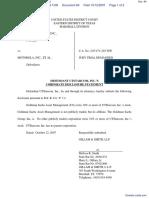 Minerva Industries, Inc. v. Motorola, Inc. et al - Document No. 84